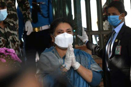 राष्ट्रपति भण्डारीद्वारा टिचिङ अस्पतालमा स्वास्थ्य परीक्षण
