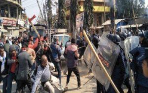आमहड्तालमा बिभिन्न जिल्लामा झडप, कैयौं घाइते काठमाडौं रिफर