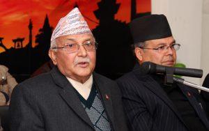 दिल्ली जानुअघि ओलीलाई झलनाथको फोन :बिन्ति छ, हिजोका सबै कुरा बिर्सेर पार्टी मिलाउनुस्
