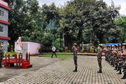 लुम्बिनी प्रदेशप्रमुख अमिक शेरचनद्वारा पदभार ग्रहण